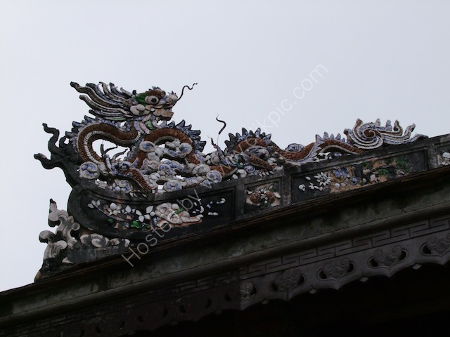 Ornate Roof Detail, Kinh Thanh (Citadel), Hue
