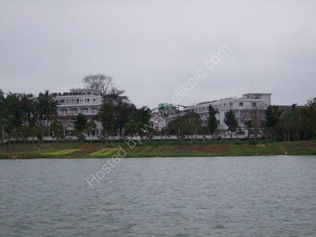 La Residence Hotel from The Perfume River, Hue