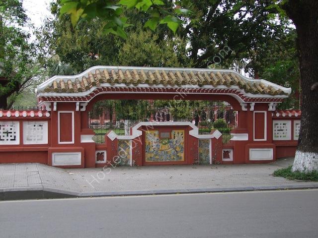 Park alongside The Perfume River, Hue
