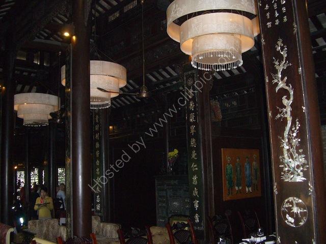 Inside Traditional Vietnamese Restaurant, Hue