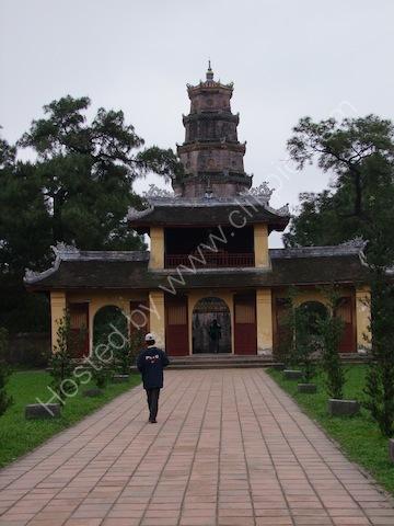 Entrance Gate, Thien Mu Pagoda, Hue