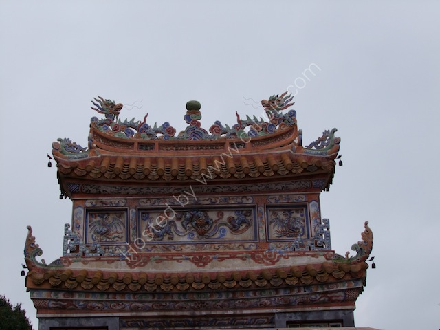Detail of Restored Gate, Tu Duc Tomb, Hue