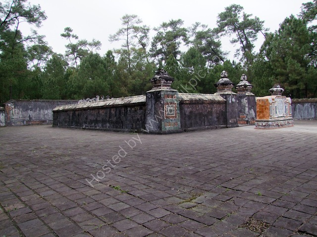 Walled Enclosure of Emperor Tu Duc Tomb, Hue
