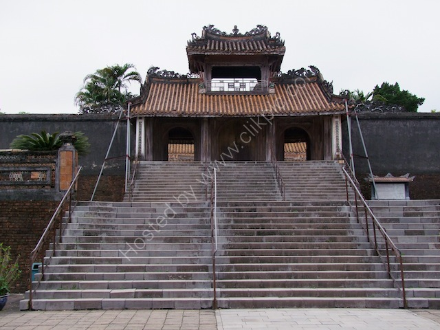 Entrance Gate, Tu Duc Tomb, Hue