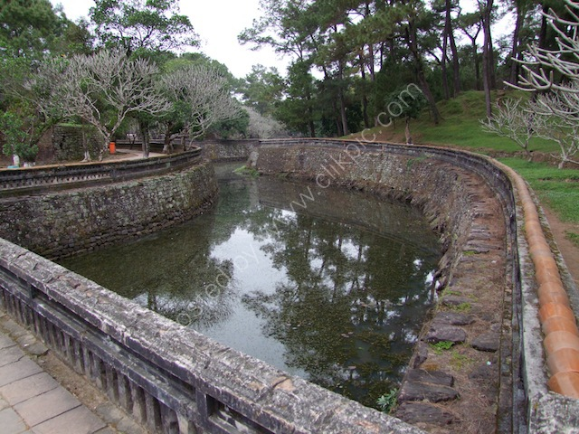 Moat around Tu Duc Tomb, Hue