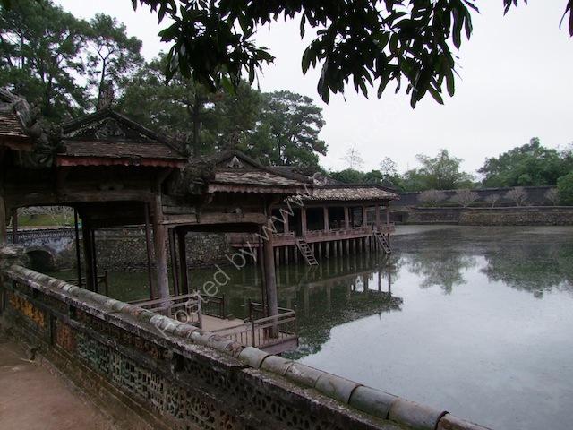Reflections of Two Pavilions on Lake Luu Khiem, Tu Duc Tomb, Hue