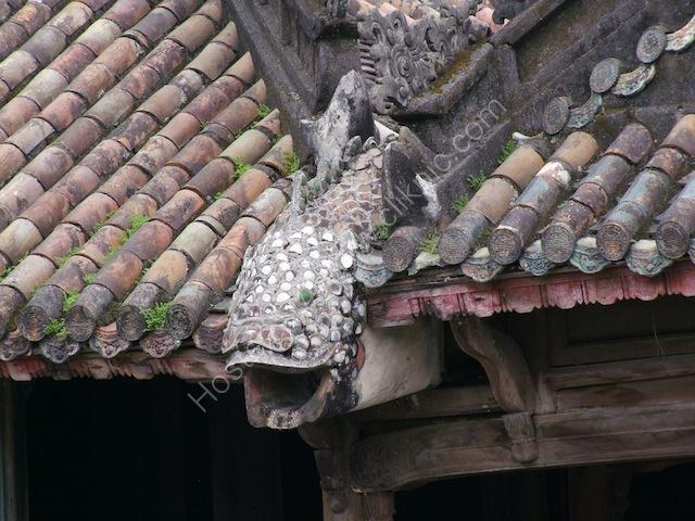 Roof Detail of Landing Building, Tu Duc Tomb, Hue