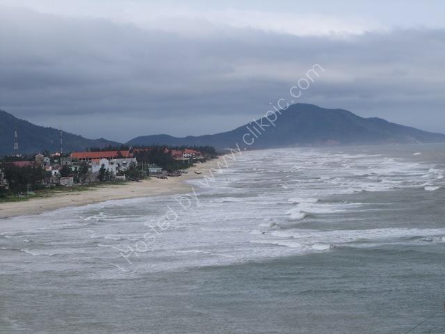 Lang Co Fishing Village & Beach, between Hue and Hoi An