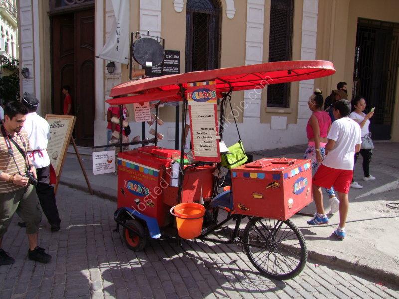 Ice Cream Seller, Plaza Vieja
