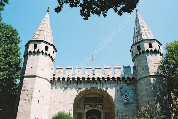 Main Entrance, Imperial Gate, Topkapi Palace, Istanbul