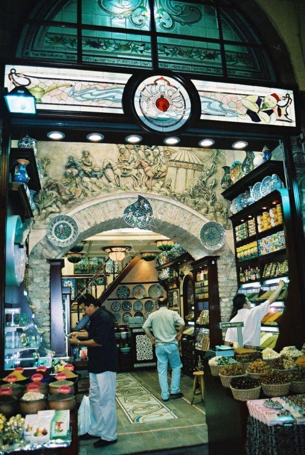 Food Shop, Covered Bazaar, Istanbul, Turkey