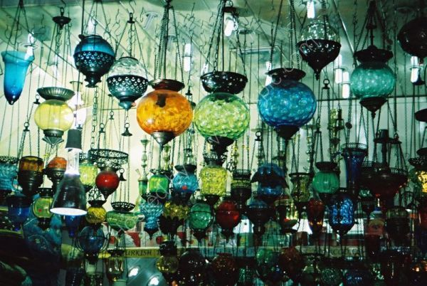Lamp Shop, Covered Bazaar, Istanbul, Turkey