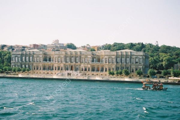 Dolmabahce Palace from the Bosphorous, Istanbul, Turkey