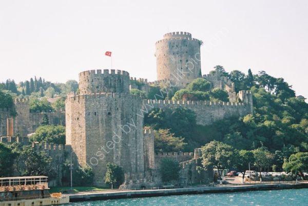 Castle of Rumeli Hisari, European Side of Bosphorus, Istanbul, Turkey