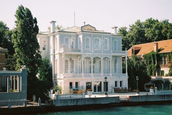 Typical Bosphorus Turkish House, Istanbul, Turkey