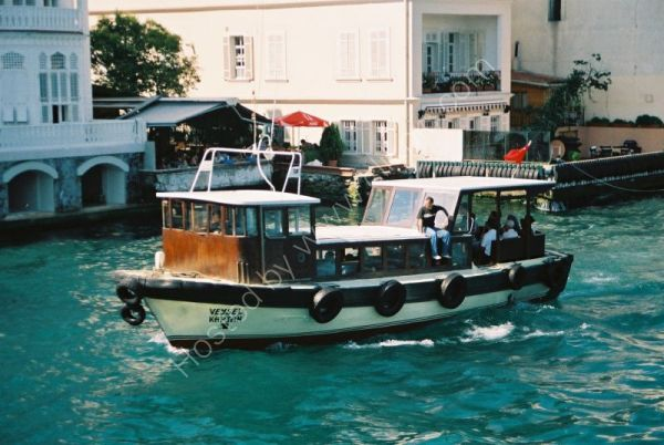 Local Ferry on the Bosphorus, outside Istanbul, Turkey