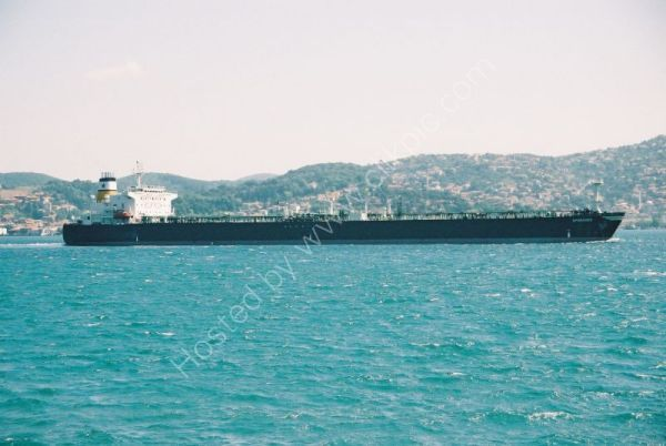 Oil Tanker on the Boshporous, outside Istanbul, Turkey