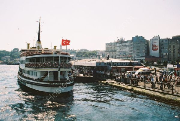 Turkish Ferry, Bosphorus, Istanbul, Turkey