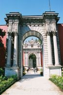Archway at Dolmabahce Palace, Istanbul, Turkey