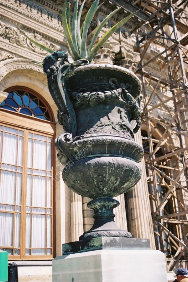 Bronze Urn at Dolmabahce Palace, Istanbul, Turkey