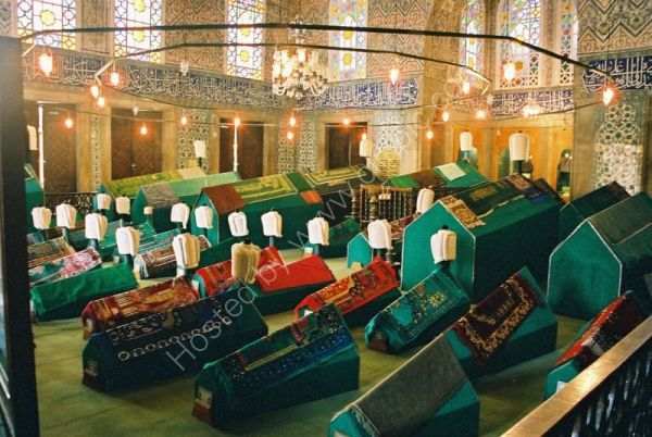 Tombs of The Sultans, Blue Mosque, Istanbul, Turkey