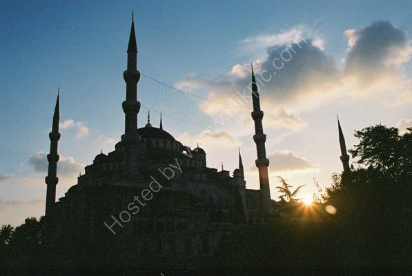 Blue Mosque at Dusk, Istanbul