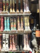 Fancy Leather Boots, Grand Bazaar, Istanbul