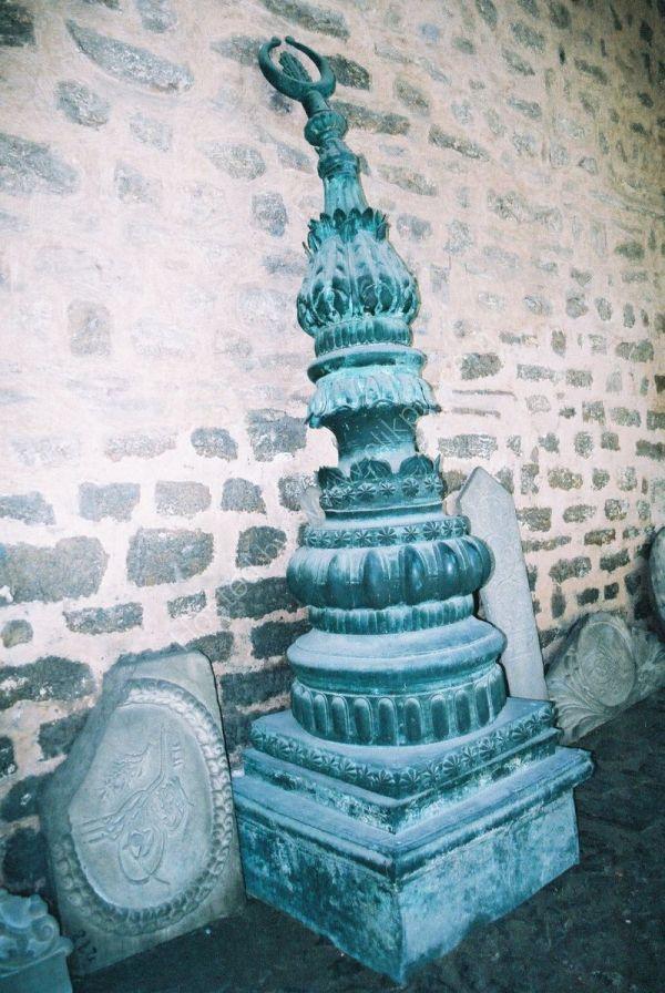 Bronze Minaret Top, Istanbul, Turkey