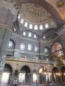 Inside the New Mosque 1663, Istanbul