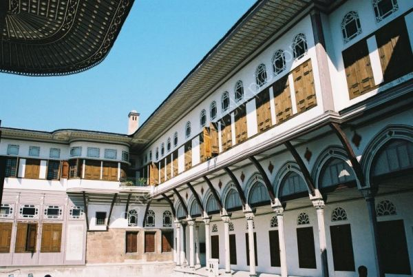 Courtyard of the Valide Sultan, Topkapi Palace, Istanbul