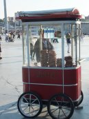 Bread Seller, Taksim Square, Istanbul
