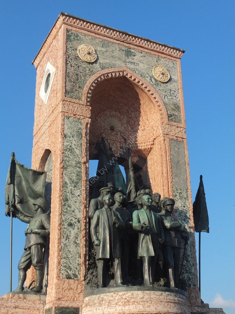 Monument to Gazi Mustafa Kemal Ataturk, Taksim Square, Istanbul