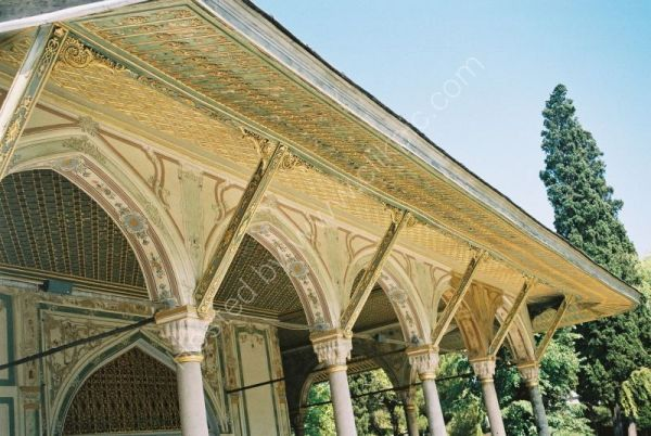 Gate of Felicity, Topkapi Palace, Istanbul, Turkey