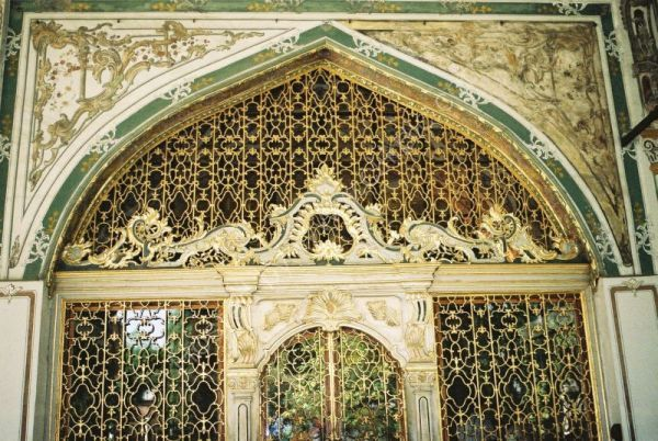 Detail of Gate of Felicity, Topkapi Palace, Istanbul