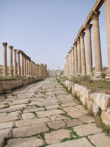 Roman Collonaded Street, Jerash