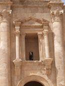 Detail of Hadrian's Arch, Jerash