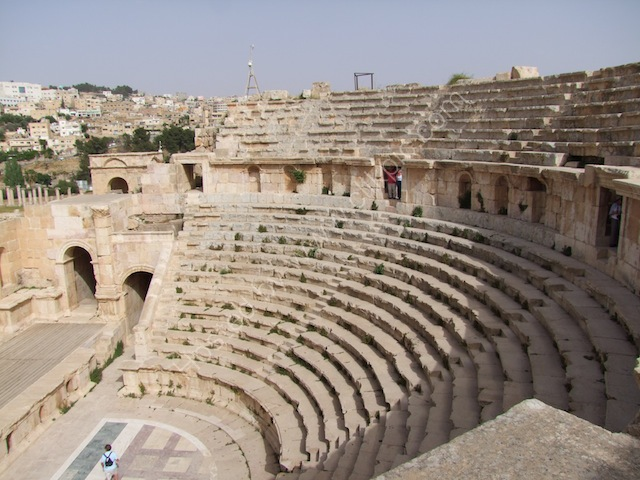 North Roman Theatre, Jerash