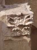 Detail of Roman North Theatre, Jerash