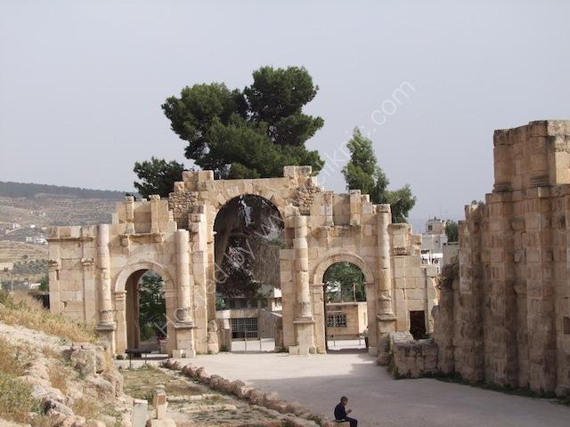 Roman South Gate, Jerash