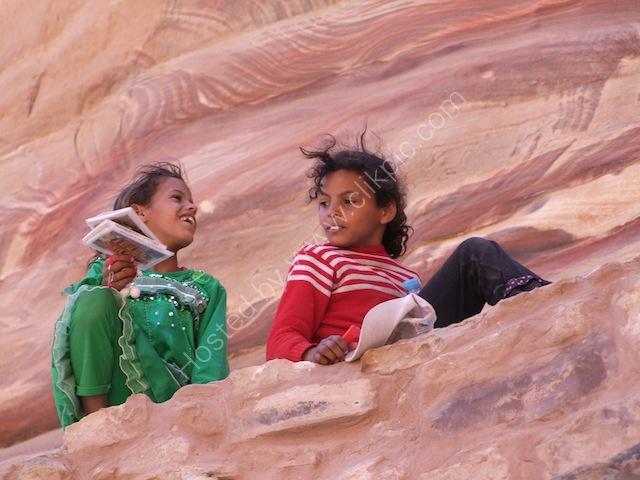 Jordanian Children, Petra