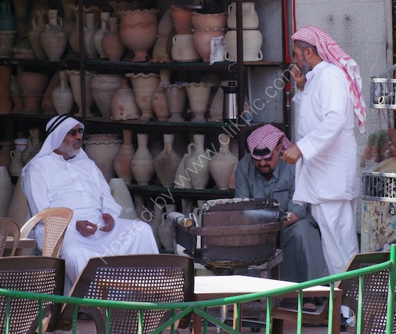 Jordanian Men, Aqaba