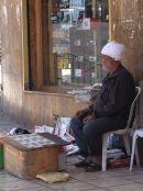 Jordanian Newspaper/Magazine Seller, Aqaba