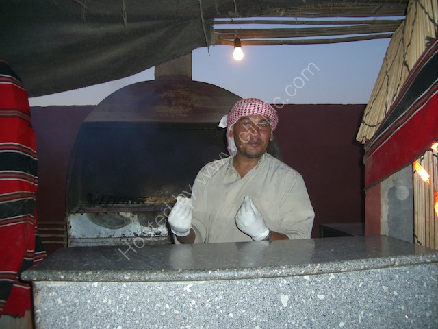 Jordanian Barbecue Chef, Wadi Rum