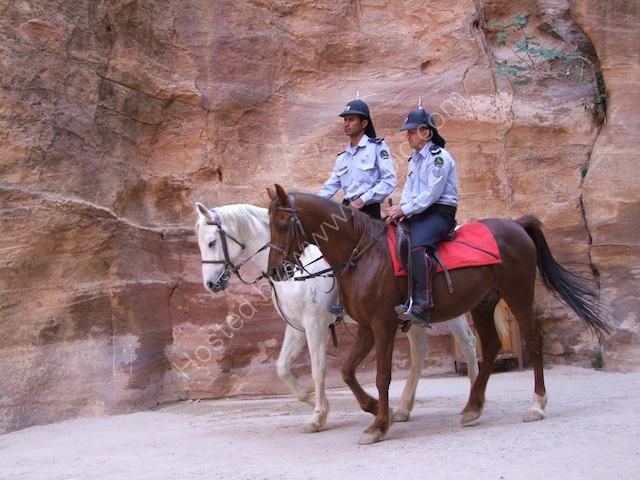 Jordanian Tourist Police, As-Siq, Petra