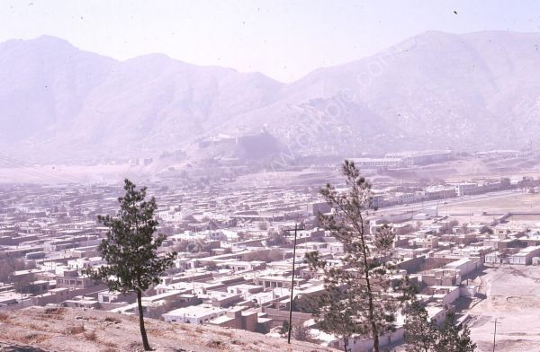 Overlooking City, Kabul
