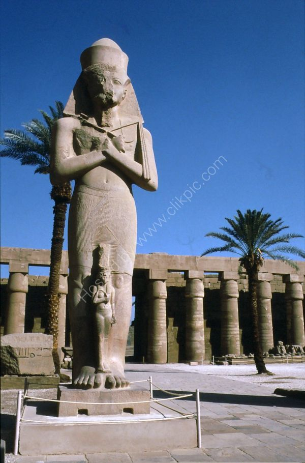 Statue of Ramesses II, Karnak Temple, Luxor
