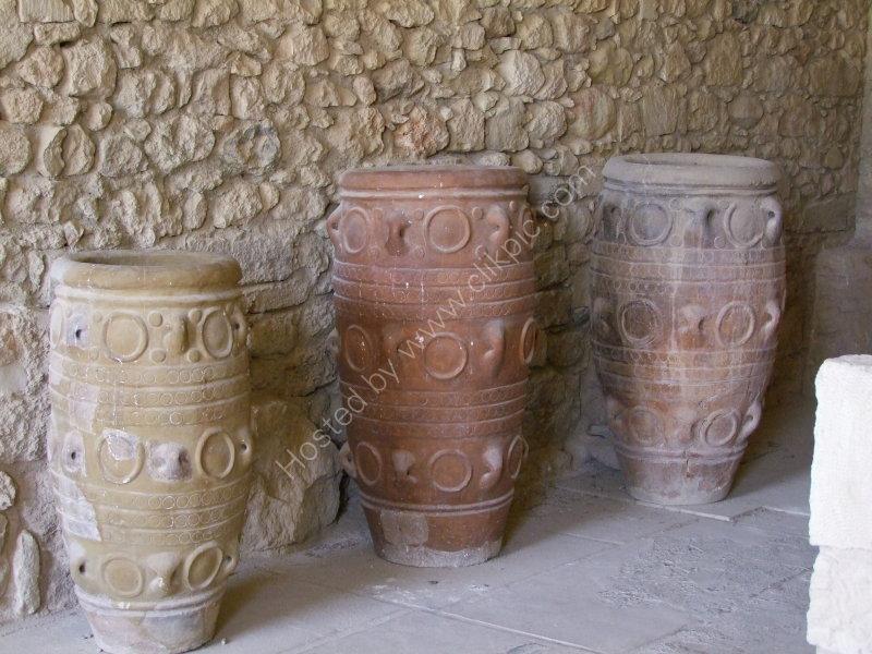 Ancient Glazed Storage Vessels, Knossos Palace