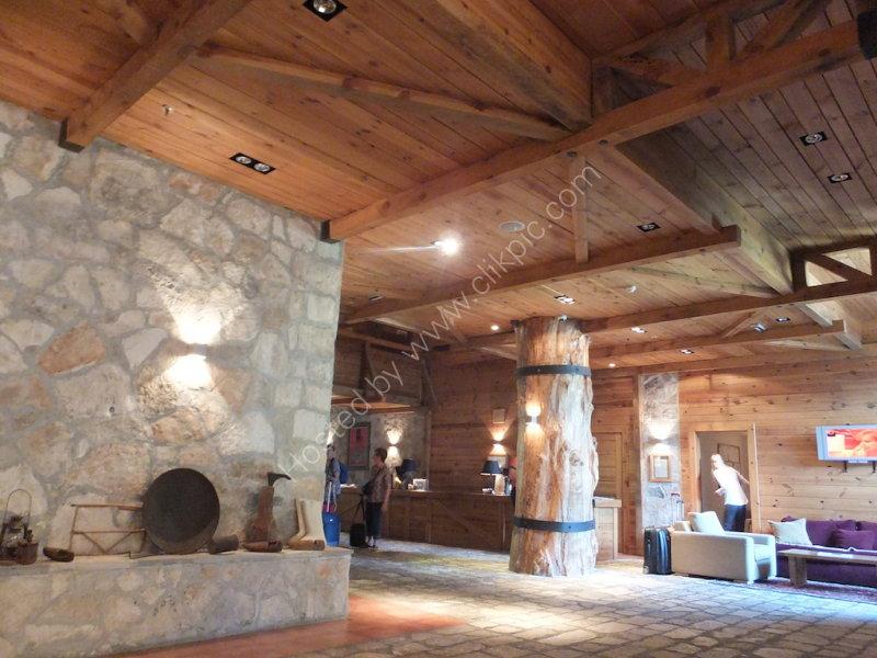 Reception of Bianca Resort & Spa Hotel, Kolasin