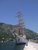 Tall Ship Sea Cloud, Kotor