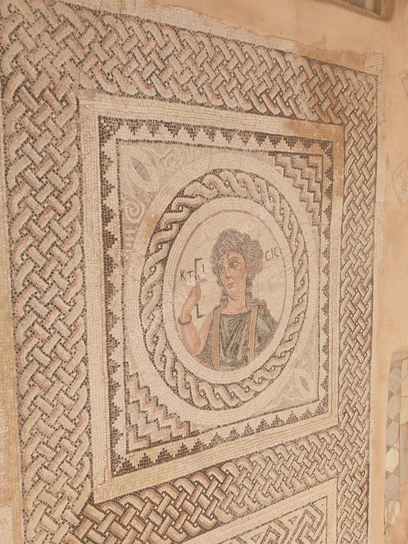 Roman Mosaic, House of Eustolios, Korion